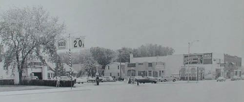 Corner of Van Dyke and Ritter Early 1960s, Currenlty Detroit Motorcycle