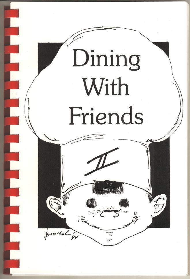 Dining with Friends II Cookbook Cover