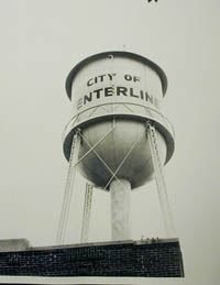 City of Center Line Water Tower