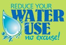 Reduce Your Water Use - No Excuse - 100 Ways to Conserve Water Tips Website